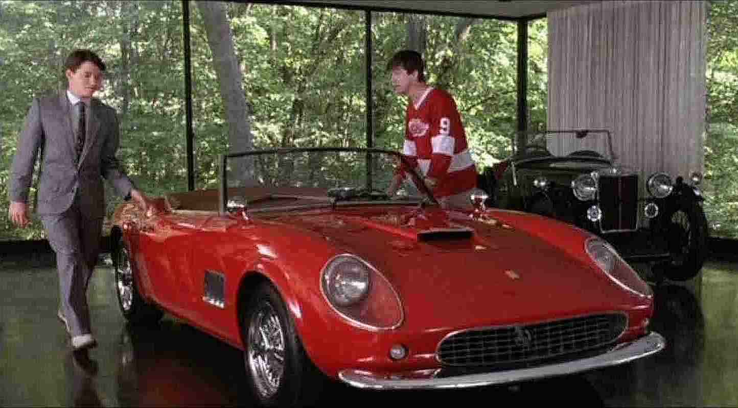 Ferrari used for the filming of Ferris Bueller's Day Off