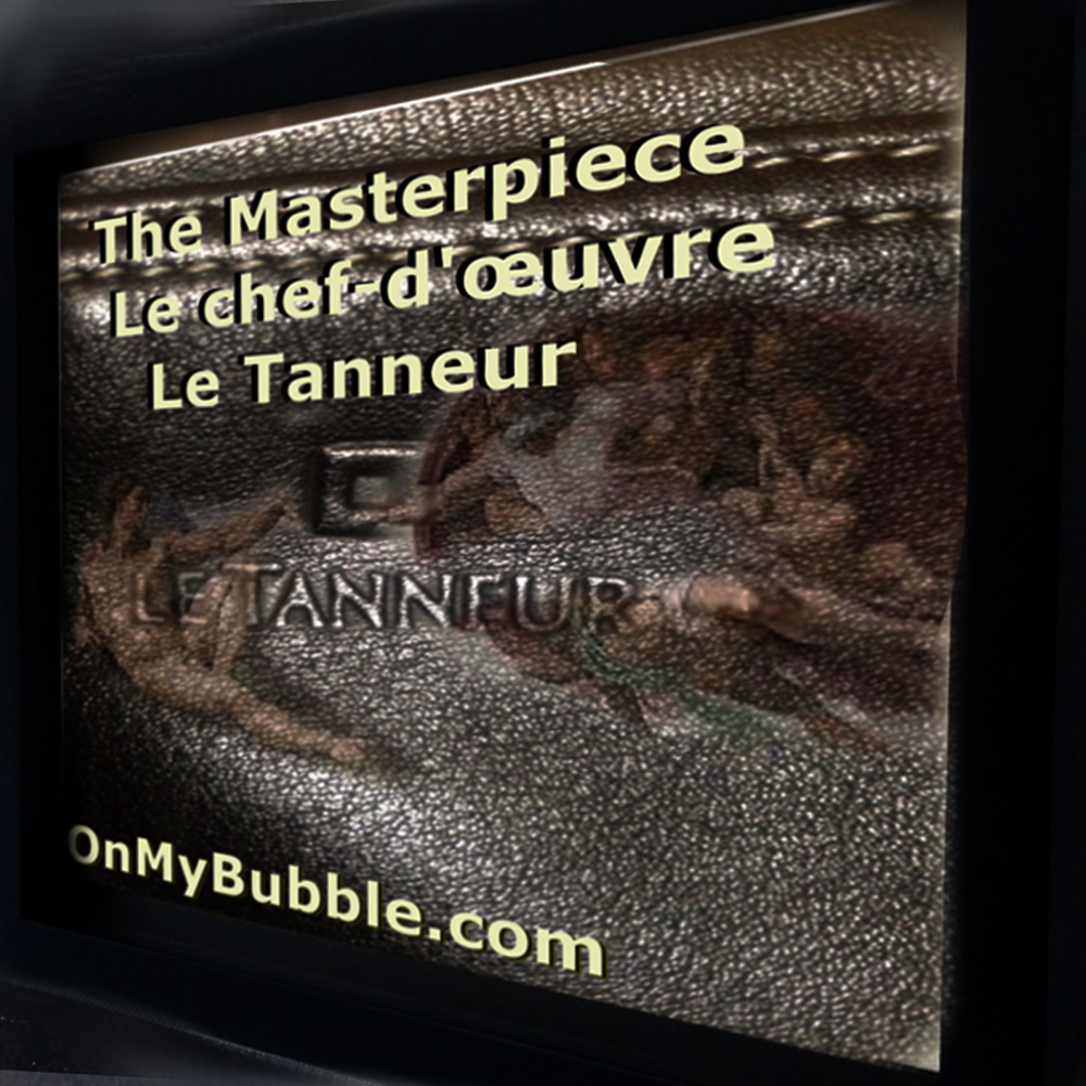 Le Tanneur Branded Luxury Black Leather Bag