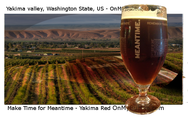 Make Time for Meantime Yakima Red Beer