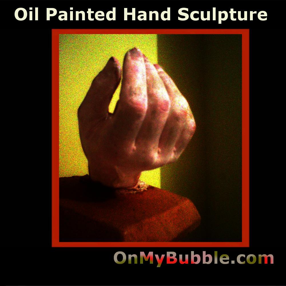 Sculpted Hand