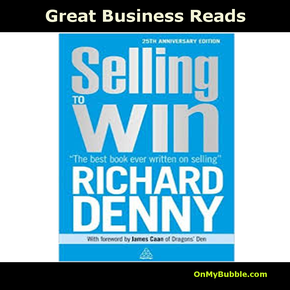 His books are a treasure trove of practical wisdom that work like magic, irrespective of your goal. Denny teaches us that we are all selling something, whether it is the person trying to make themselves attractive to a potential partner, all the way up to the professional politician including the Prime Minister selling her policies to the electorate and her government colleagues. 