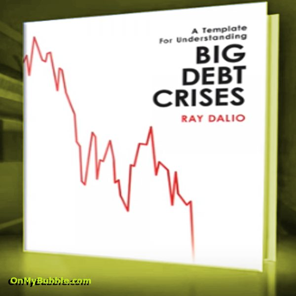 Ray Dalio Book detailing research on Understanding Big Debt Crisis. Ray Dalio is one of the worlds leading hedge fund managers and explains the economic machine in terms that are easy to understand for non economists. His approach simplifies the concept of debt and how credit is both the largest financial market and the market most susceptible to predictable patterns effected by human nature and behaviour.