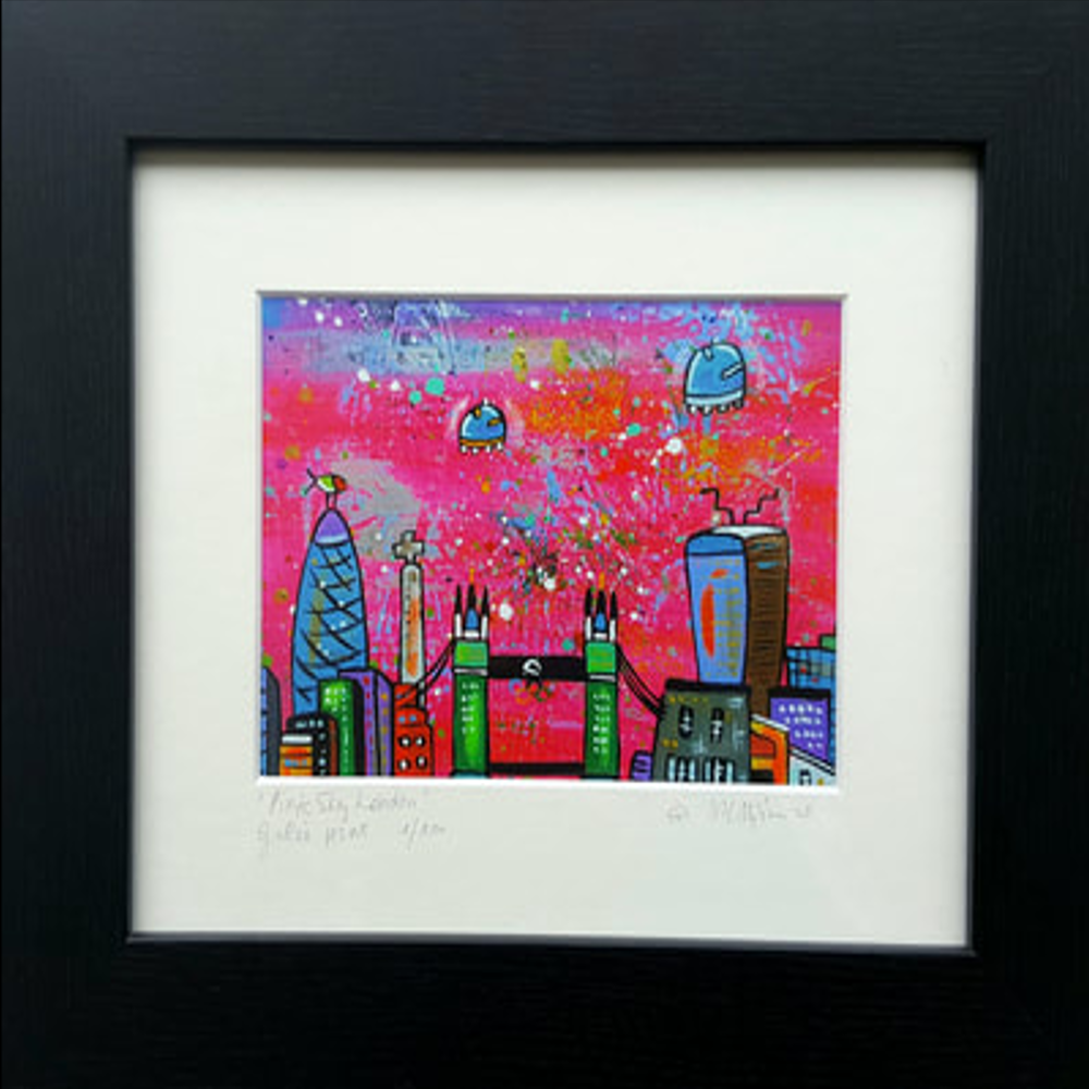 Art available from Greenwich Market Artists Quarter or Artists Website