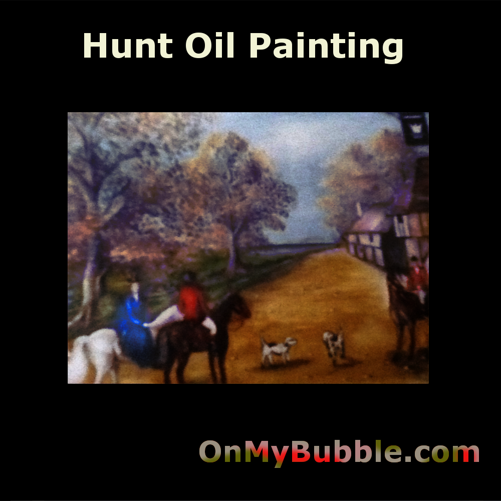 The Hunt is an Oil On Canvas held In Private Collection