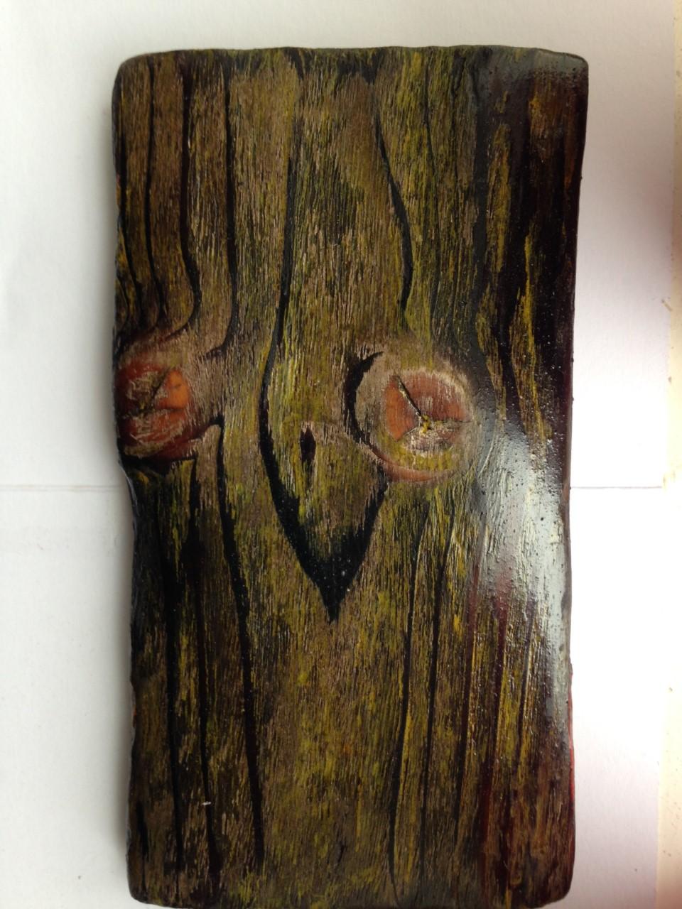 Shou Sugi Ban Sample Wood Finish