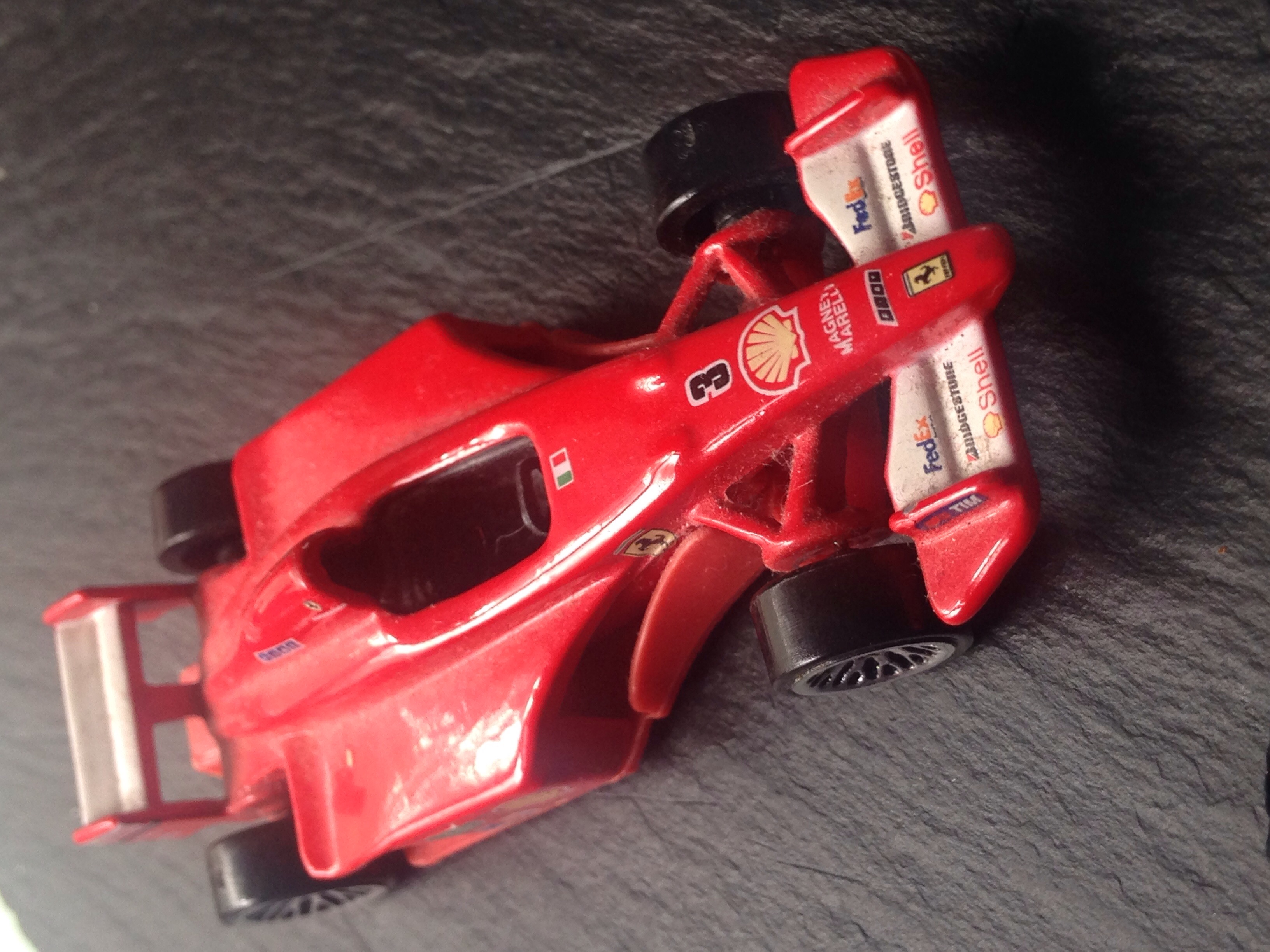 Collection item Red Ferrari Toy Racing Car