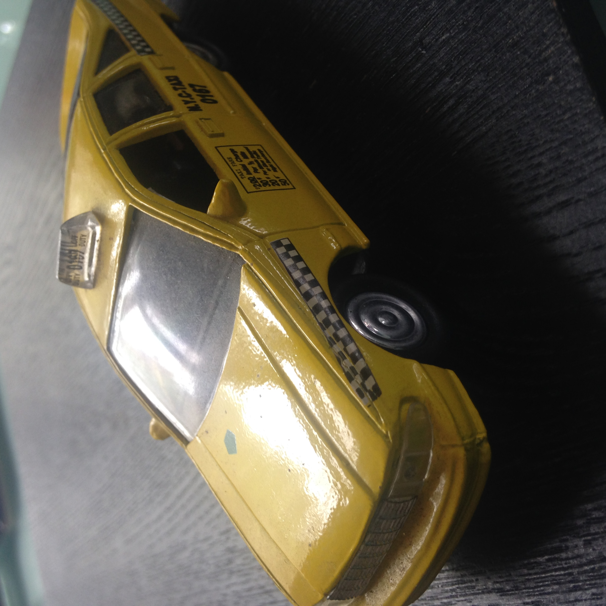 New York City Yellow Taxi Cab Toy Collection