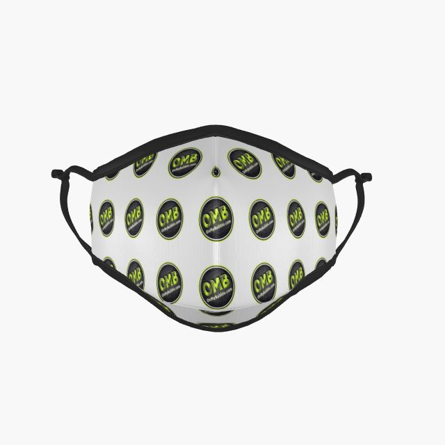 Face Mask Spotted Logo Design
