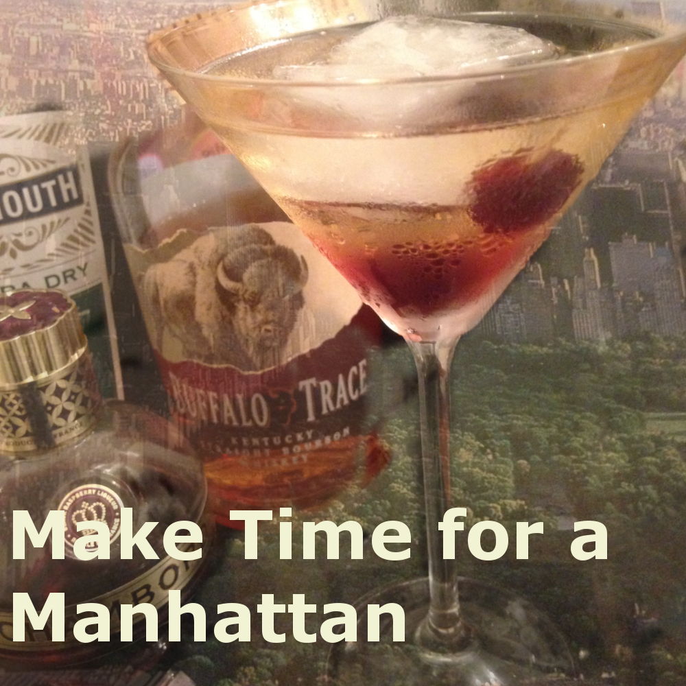 Make Time For A Manhattan Aperitif Cocktail