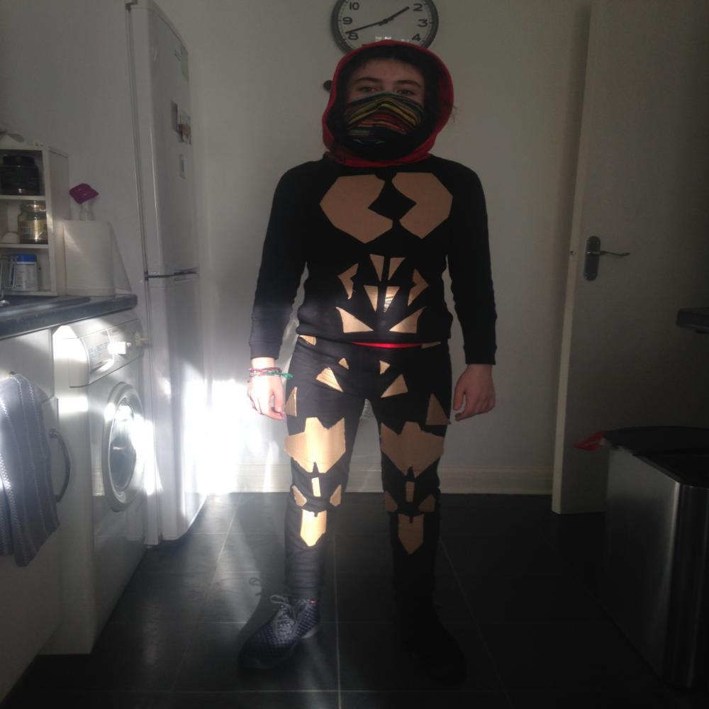 Ninja cosplay costume