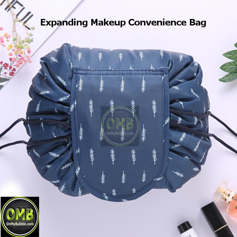 Expanding Makeup Bag