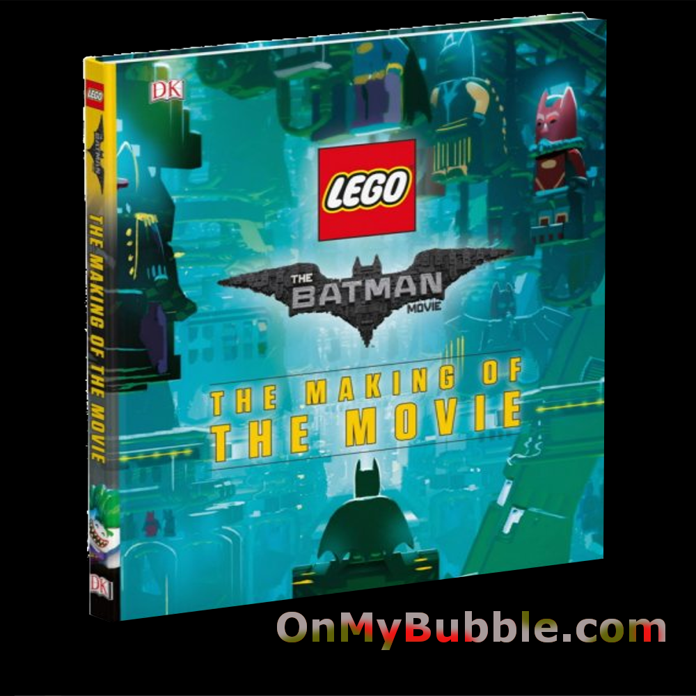 The LEGO© BATMAN MOVIE The Making of the Movie Hardcover