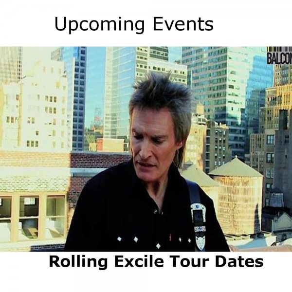 Rolling Excile Tour Dates