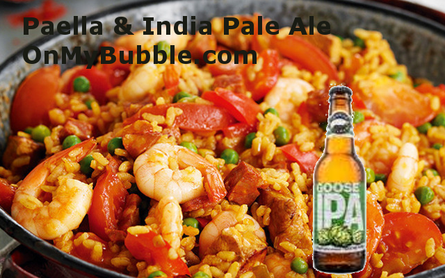 Paella and IPA