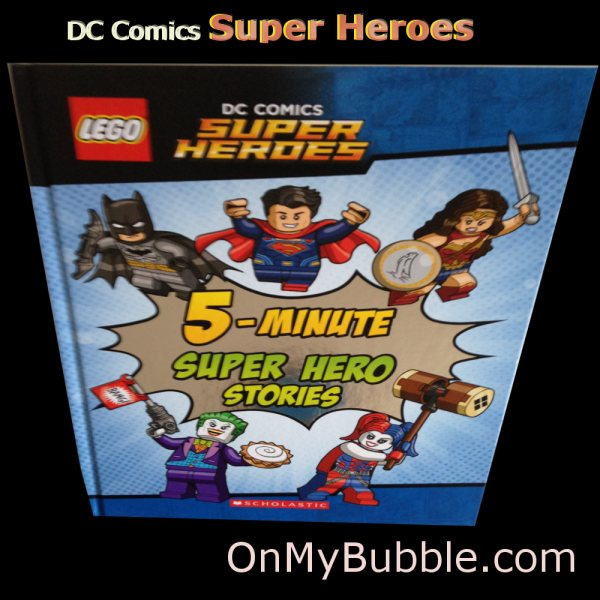 DC Super Heroes Hard Back 5 Minute Super Hero Stories