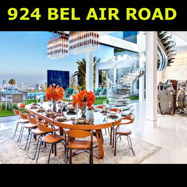 The most expensive home listed in the United-States  924 Bel-Air Road Bel-Air Los Angeles