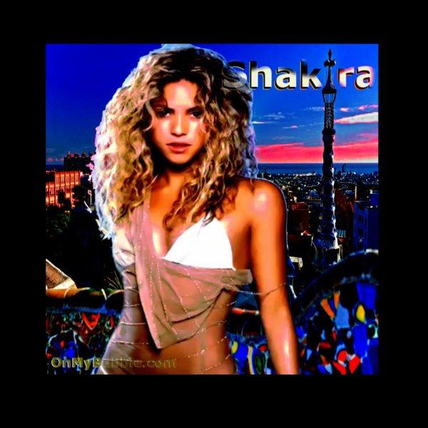 Shakira Spain Poster